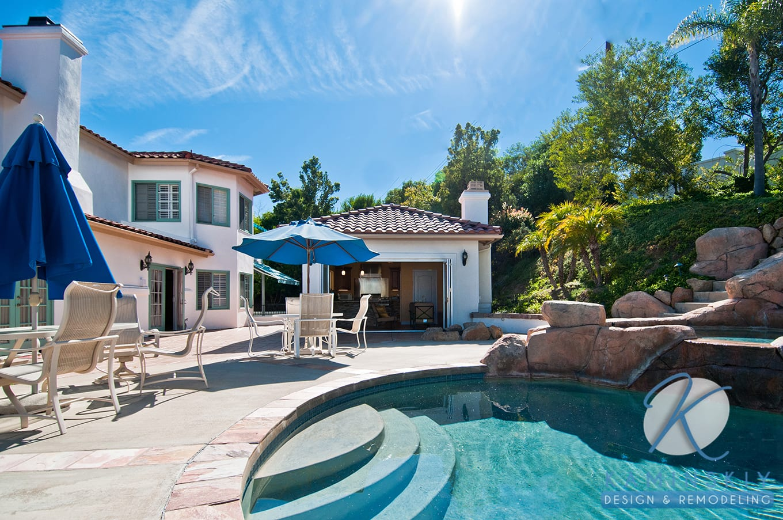 San Diego Poolside Room Addition