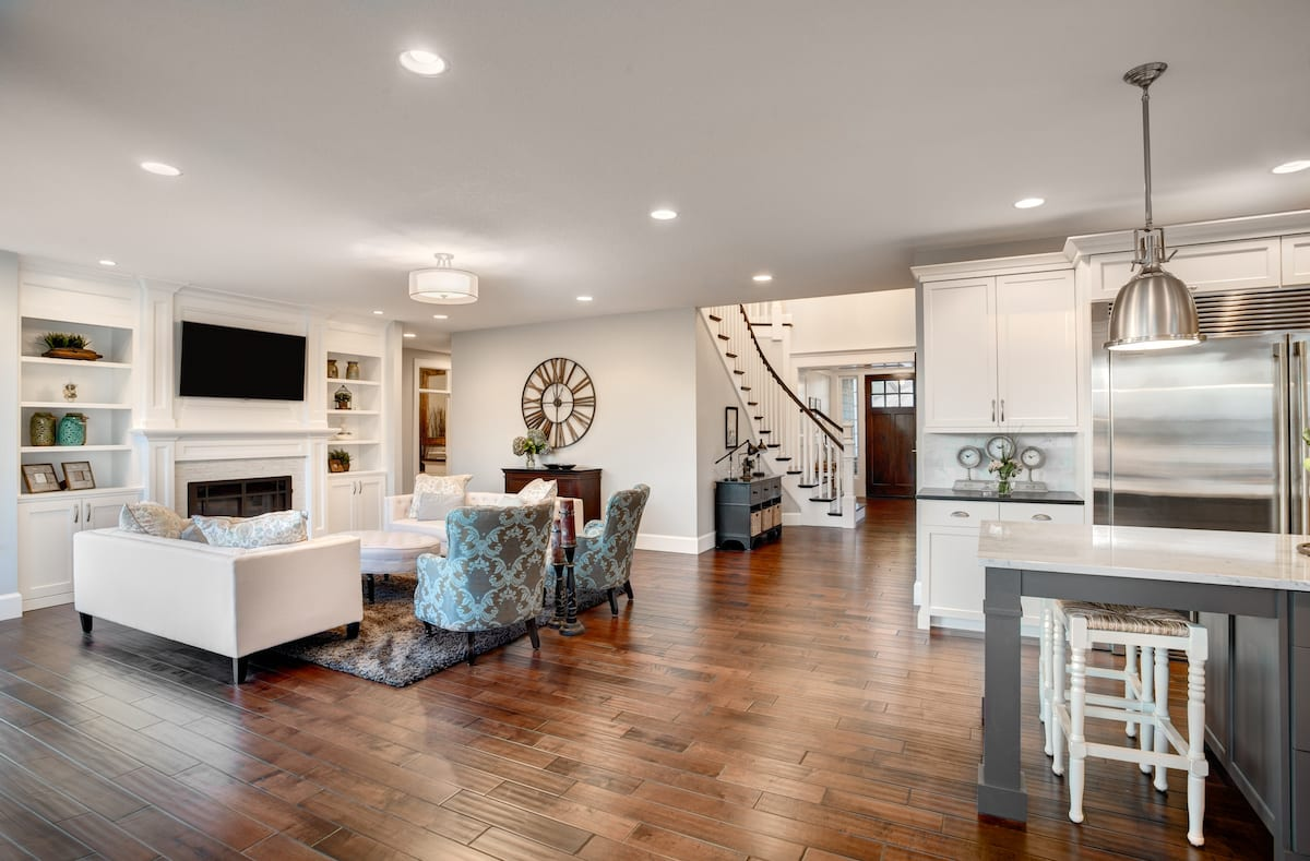 Remodel With Hardwood Floors
