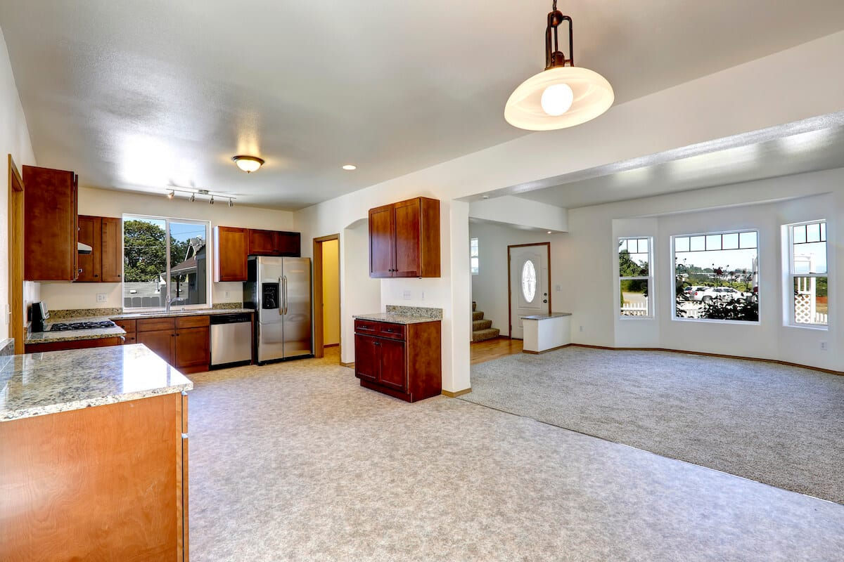 Linoleum Kitchen Flooring Remodeling