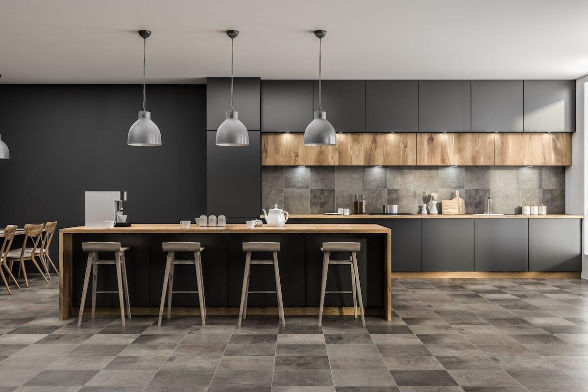 Tile Flooring Kitchen Remodeling